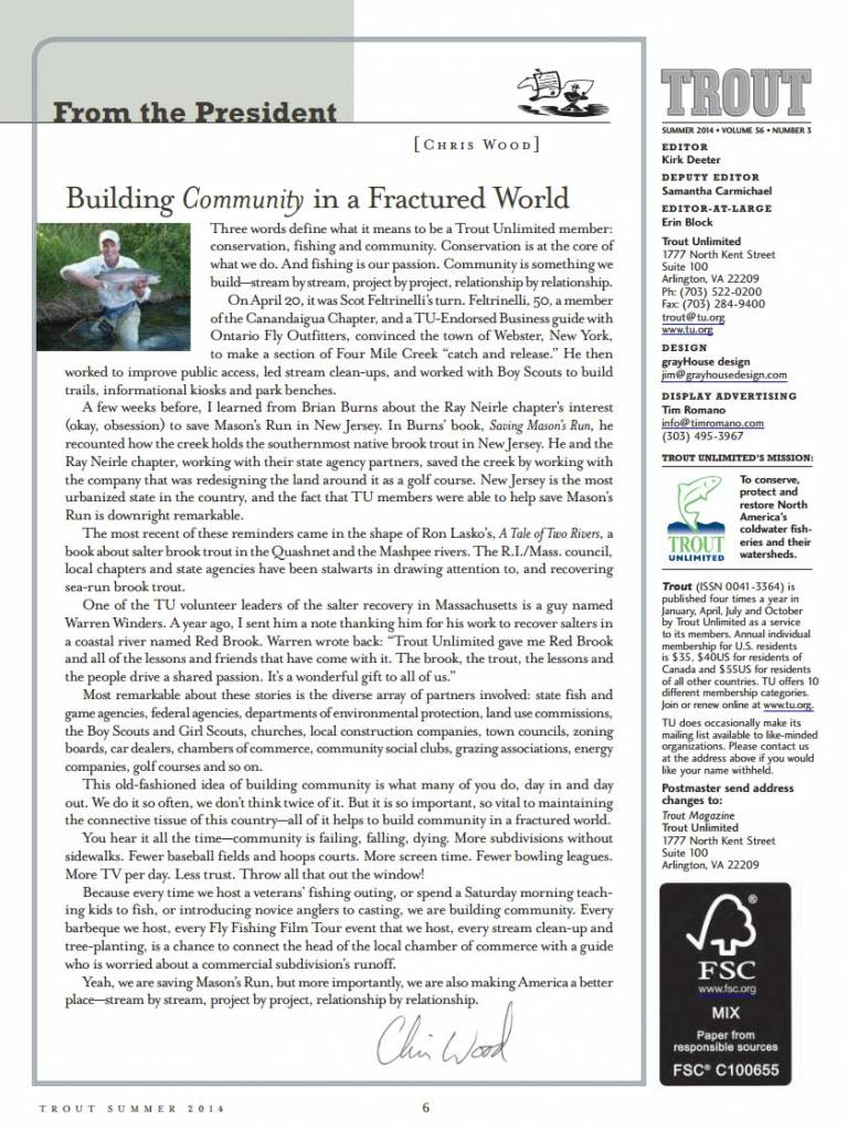 building community in a fractured world